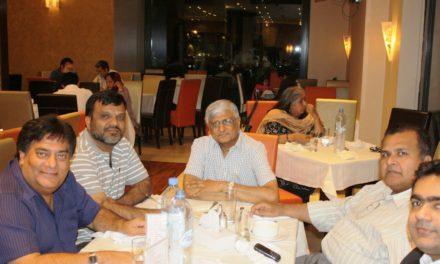 UAE Petarians – Dinner in the Honor of Capt. Abdul Rashid Abro